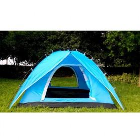 Tenda Camping Anti Wind Bunk Tent  - NH15Z006-P - Blue - 2