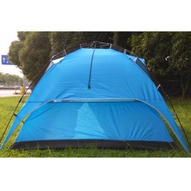 Tenda Camping Anti Wind Bunk Tent  - NH15Z006-P - Blue - 3