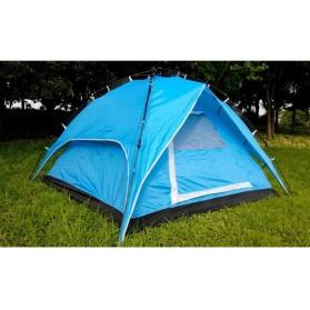 Tenda Camping Anti Wind Bunk Tent  - NH15Z006-P - Blue - 4