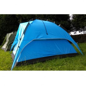 Tenda Camping Anti Wind Bunk Tent  - NH15Z006-P - Blue - 5