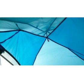Tenda Camping Anti Wind Bunk Tent  - NH15Z006-P - Blue - 12