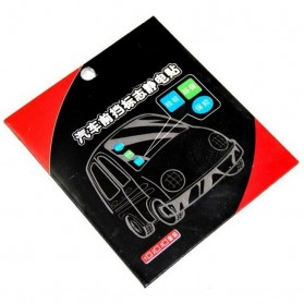 Automotive Electrostatic Stickers 3PCS / Stiker Mobil