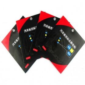 Automotive Electrostatic Stickers 3 PCS / Stiker Mobil - 3