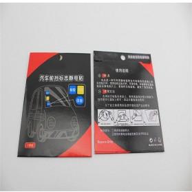 Automotive Electrostatic Stickers 3 PCS / Stiker Mobil - 5