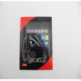 Automotive Electrostatic Stickers 3 PCS / Stiker Mobil - 7