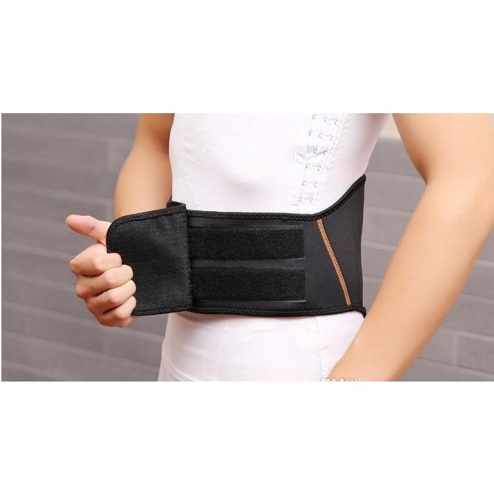Copper Fit Back Pro Slimming Belt - Black ...