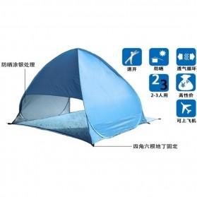 Tenda Camping Pantai Buka Otomatis - ISL100 - Blue