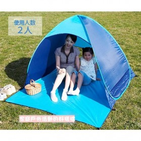 Tenda Camping Pantai Buka Otomatis - ISL100 - Blue - 4