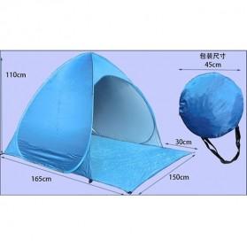 Tenda Camping Pantai Buka Otomatis - ISL100 - Blue - 8