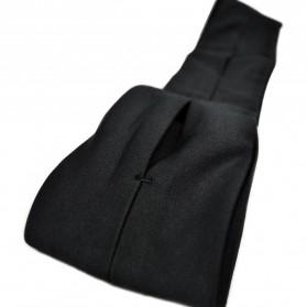 Waterproof Sports Belt with 4 Pockets - Large Size - Black - 2