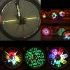 Lampu Sepeda / Bicycle Light - Bicycle DIY Programmable Wheel Light LED - YQ8003 - Black