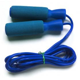 Jump Rope Skipping Counting Rope Sponge Foam / Tali Skipping - Blue
