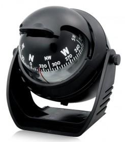 Kompas Ball Shaped Magnetic Compass Declanation Correction - LC760 - Black - 2