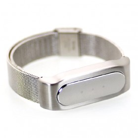 Stainless Milanese Metal Xiaomi Replacement Band for Xiaomi Mi Band - Silver