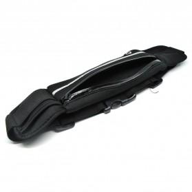 Multifunction Sports Belt with Flat Pocket - ZE-WP700 - Black - 4