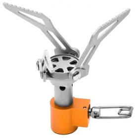 Fire Maple Portable Titanium Micro Camping Stove - Yellow with White Side