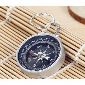 Travel Compass Outdoor American / Kompas Camping Portable - Black - 2