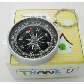 Travel Compass Outdoor American / Kompas Camping Portable - Black - 10