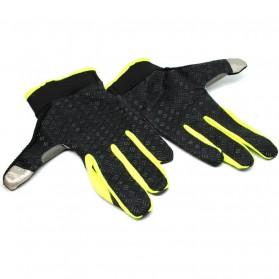 Sonny Sarung Tangan Sepeda Anti Slip Sport Gloves - Size L - Black/Green - 2