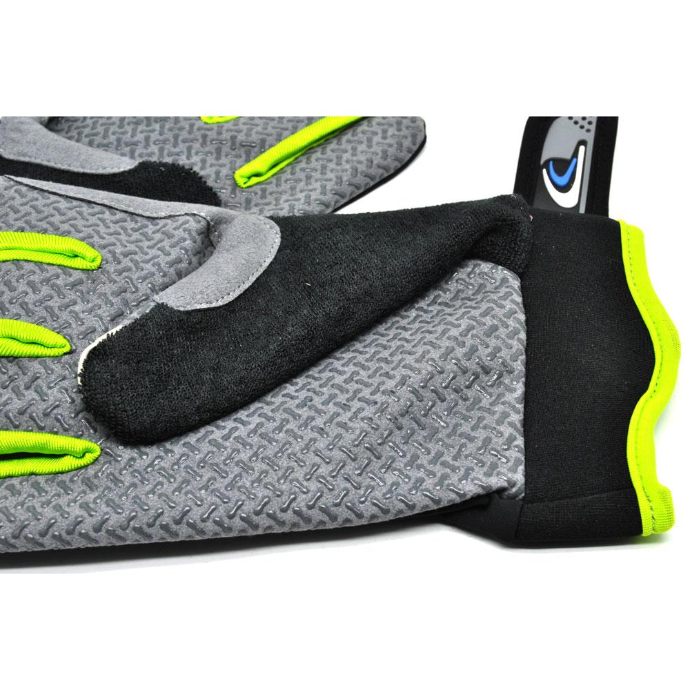 Sonny Sarung Tangan Sepeda Anti Slip Sport Gloves Size L Black Rockbros S109 Bike Glove Half Finger Green