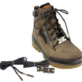 Tali Sepatu Magnesium Fire Starter 2 PCS - Black