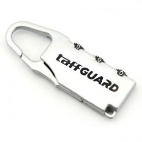 TaffGUARD Columbia Gembok Koper Numeric Code Lock - Silver