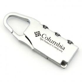 TaffGUARD Columbia Gembok Koper Numeric Code Lock - Silver - 2