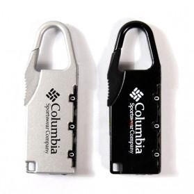 TaffGUARD Columbia Gembok Koper Numeric Code Lock - Black - 3