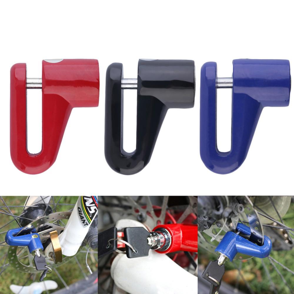 Kunci Cakram Motor Anti Maling Red Gembok Ban Sepeda 3