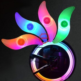 DACHELUN Lampu Ban Sepeda Colorful LED Bicycle Wheel Light 1 PCS - DC-889 - Multi-Color