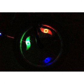 DACHELUN Lampu Ban Sepeda Colorful LED Bicycle Wheel Light 1 PCS - DC-889 - Multi-Color - 4