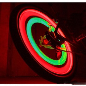 DACHELUN Lampu Ban Sepeda Colorful LED Bicycle Wheel Light 1 PCS - DC-889 - Multi-Color - 9