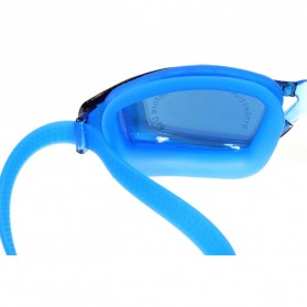RUIHE Kacamata Renang Profesional Anti Fog UV Protection - Black - 6