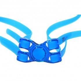 RUIHE Kacamata Renang Profesional Anti Fog UV Protection - Black - 7
