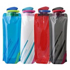 TaffSPORT Botol Minum Lipat 700ml - S29 - White - 10