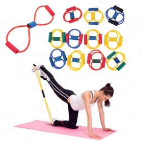 ITSTYLE Tali Stretching Yoga Fitness Power Resistance - TT007N - Black - 9
