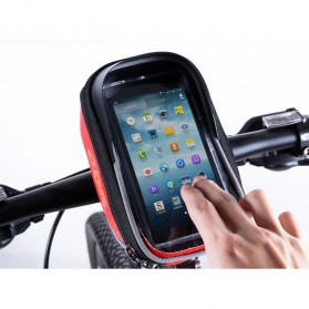 CBR Smartphone Holder Sepeda Ultra Sensitive Touch Screen Waterproof - Black - 4