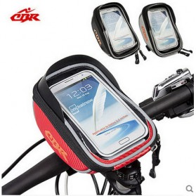 CBR Smartphone Holder Sepeda Ultra Sensitive Touch Screen Waterproof - Black - 5