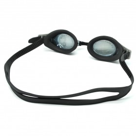 Obaolay Kacamata Renang Minus 3.0 Anti Fog UV Protection - Black - 2