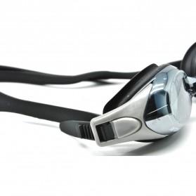 Obaolay Kacamata Renang Minus 3.0 Anti Fog UV Protection - Black - 3
