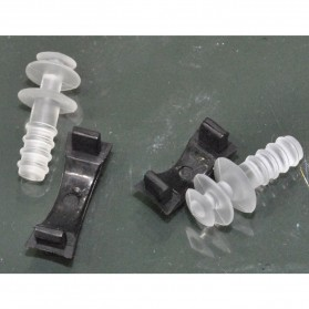 Obaolay Kacamata Renang Minus 3.0 Anti Fog UV Protection - Black - 5