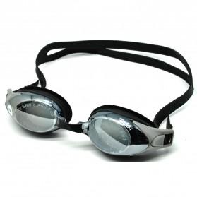 Obaolay Kacamata Renang Minus 2.0 Anti Fog UV Protection - Black
