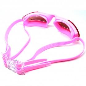 RUIHE Kacamata Renang Anti Fog UV Protection - RH5310 - Pink - 2
