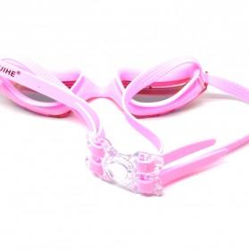 RUIHE Kacamata Renang Anti Fog UV Protection - RH5310 - Pink - 3