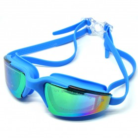RUIHE Kacamata Renang Anti Fog UV Protection - RH5310 - Blue