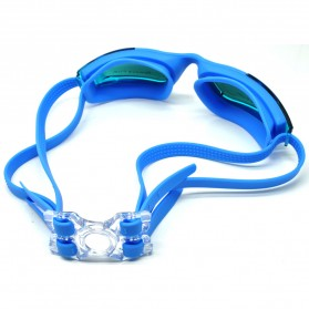 RUIHE Kacamata Renang Anti Fog UV Protection - RH5310 - Blue - 2