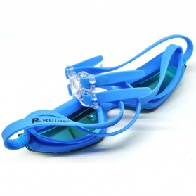RUIHE Kacamata Renang Anti Fog UV Protection - RH5310 - Blue - 3