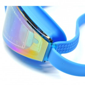 RUIHE Kacamata Renang Anti Fog UV Protection - RH5310 - Blue - 4