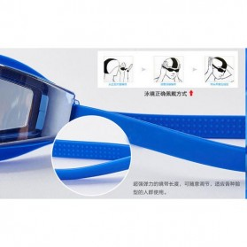 RUIHE Kacamata Renang Anti Fog UV Protection - RH5310 - Blue - 9