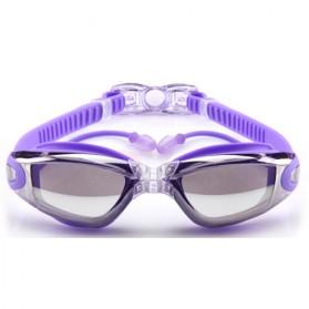 Grilong Kacamata Renang dengan Penutup Telinga - A380 - Purple - 12